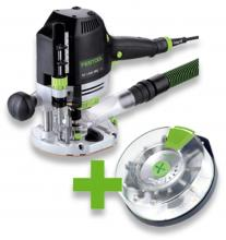 Festool horná frézka OF 1400 EBQ-Plus+Box OF-S8/10xHW