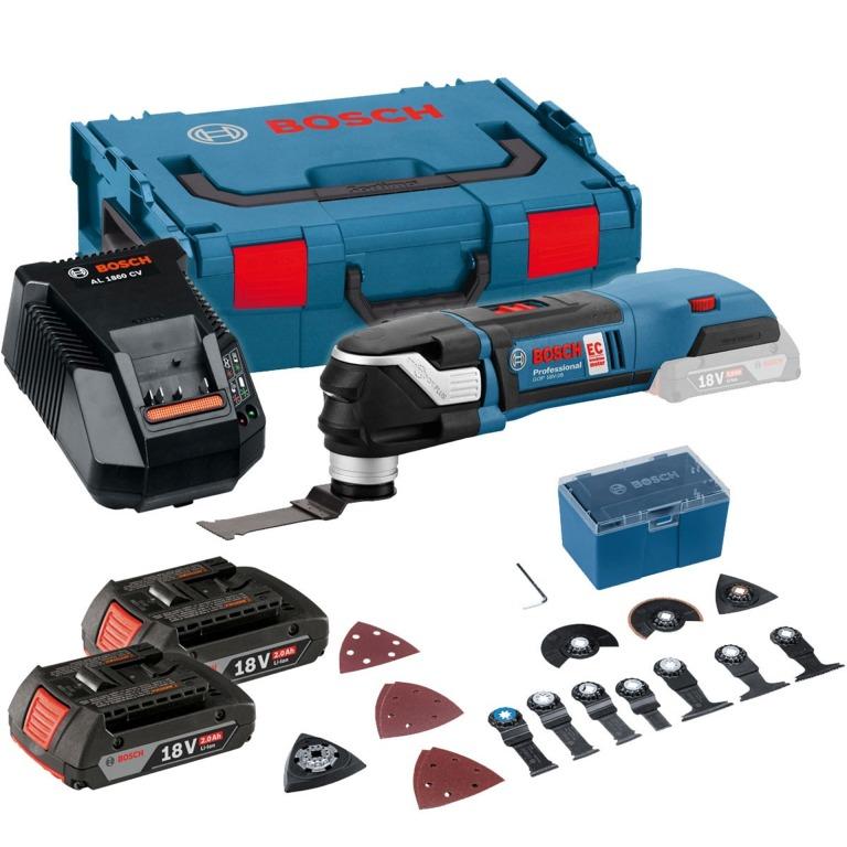 19e46462a962f Aku multifunkčné náradie Bosch Multi-Cutter GOP 18V-28 empty
