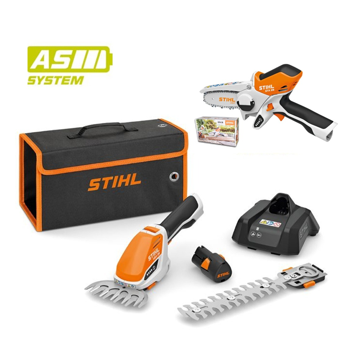 STIHL AKU Set GTA 26 + HSA 26