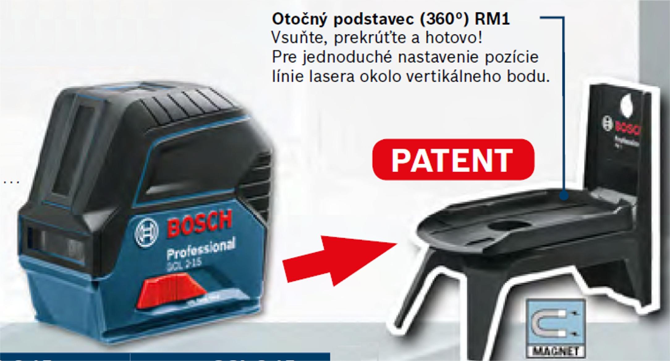 bosch bosch gcl 2 15 rm 1 kr ovo bodov laser fachman eh hobby s r o. Black Bedroom Furniture Sets. Home Design Ideas